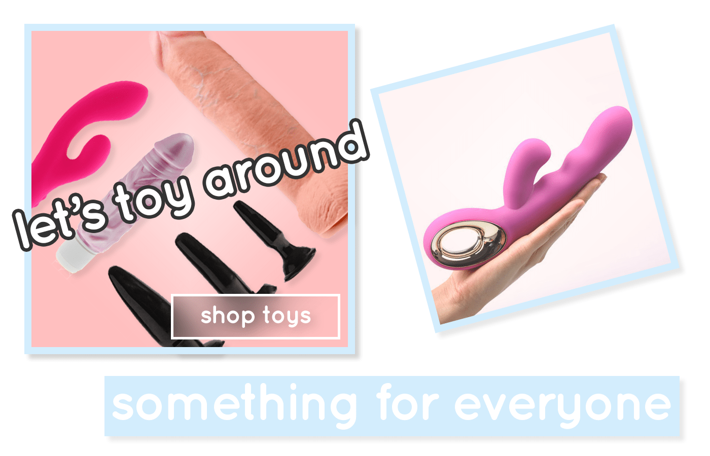 Let's Toy Around Sex Toys
